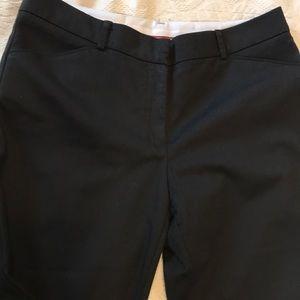 Zac & Rachel black cropped ankle dress pants 10
